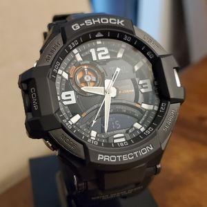 G-Shock G-Aviation Twin Sensor Watch - GA-1000-1A